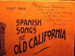Charles Lummis Autographed book, Los Californios Collection.