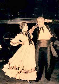 Clarence Palomares and Juanita Ávila de Palomares, 1963.